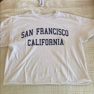 Brandy Melville SF Graphic T-shirt